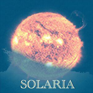 "Album cover artwork for Slowtide - ""Solaria"""